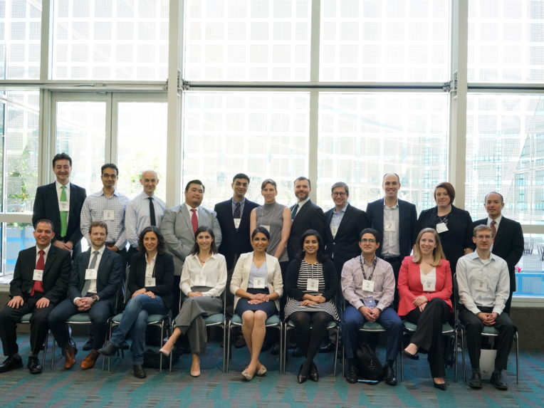 Photographed: 2018 Research Award Recipients