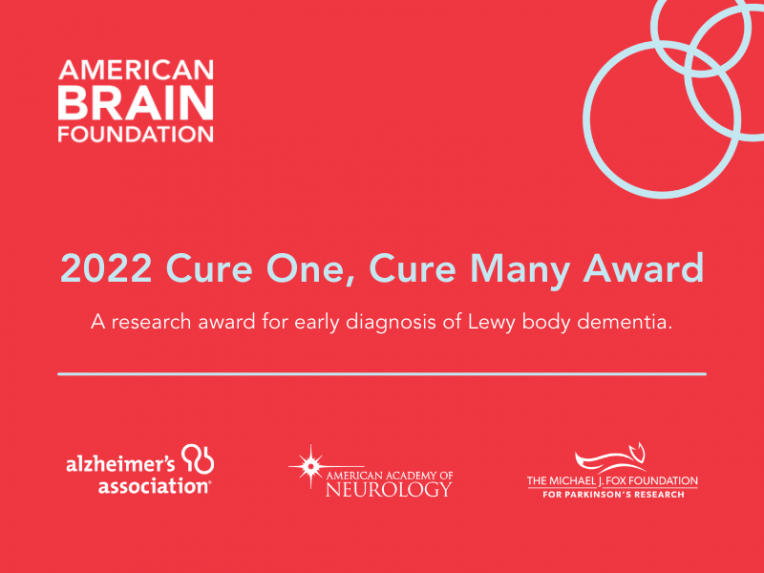 2022 Cure One, Cure Many Award
