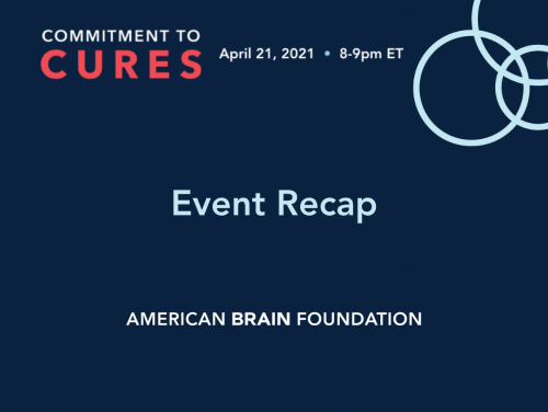 Commitment to Cures 2021 Recap