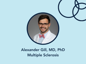 Alexander Gill, MD, PhD, Multiple Sclerosis